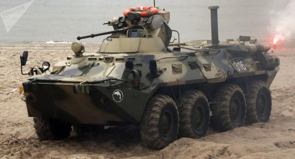 Taktická cvičení v Kaliningradské oblasti