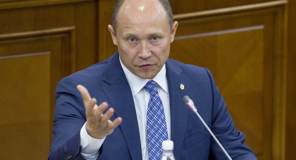 Moldavský premiér Valeriu Strelet