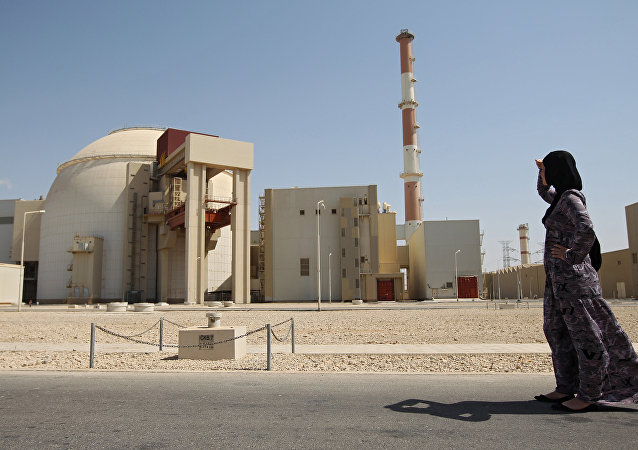 Jaderná elektrárna Búšéhr v Íránu