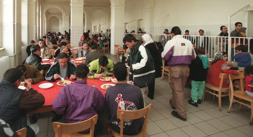 Migranti v Rakousku