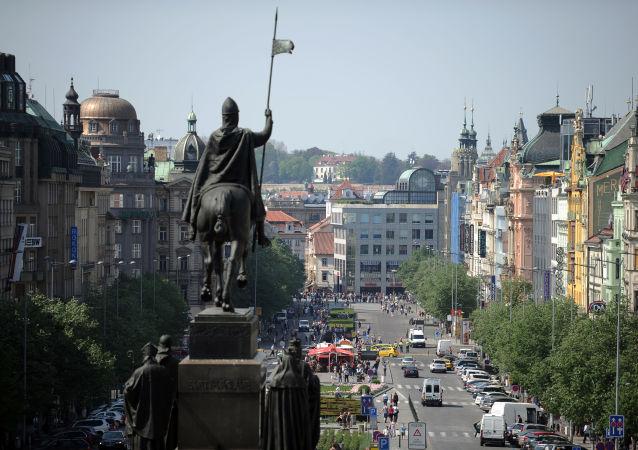 Václavské námětí v Praze
