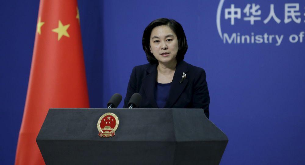 Oficiální mluvčí ministerstva zahraničí ČLR Chua Čchun-jing