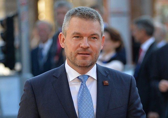 Slovenský premiér Peter Pelligrini