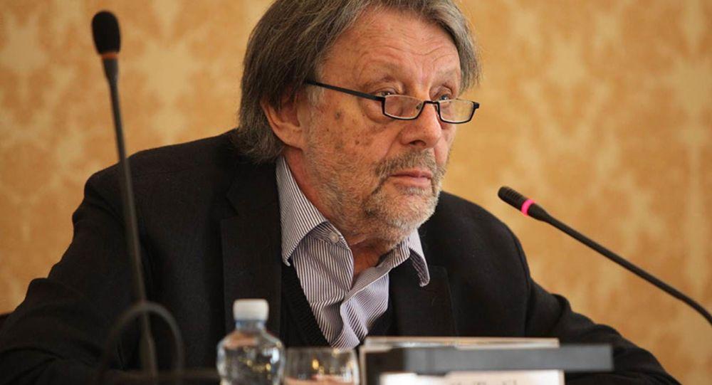 Český politolog Zdeněk Zbořil