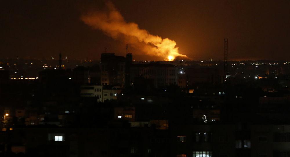Izraelské údery po Pásmu Gaza