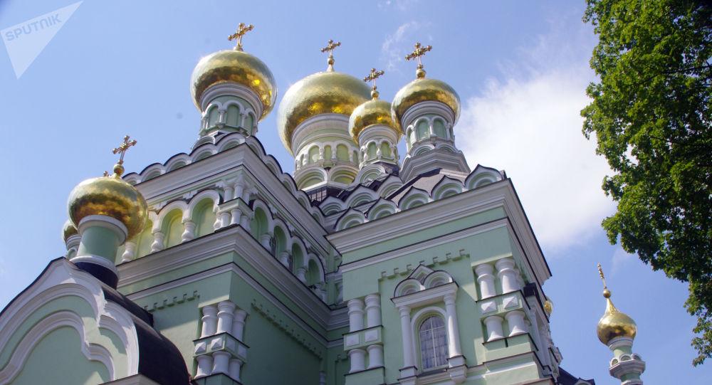 Klášter v Kyjevě. Ilustrační foto