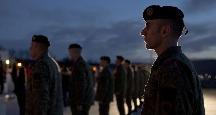 Vojáci v Kosovu