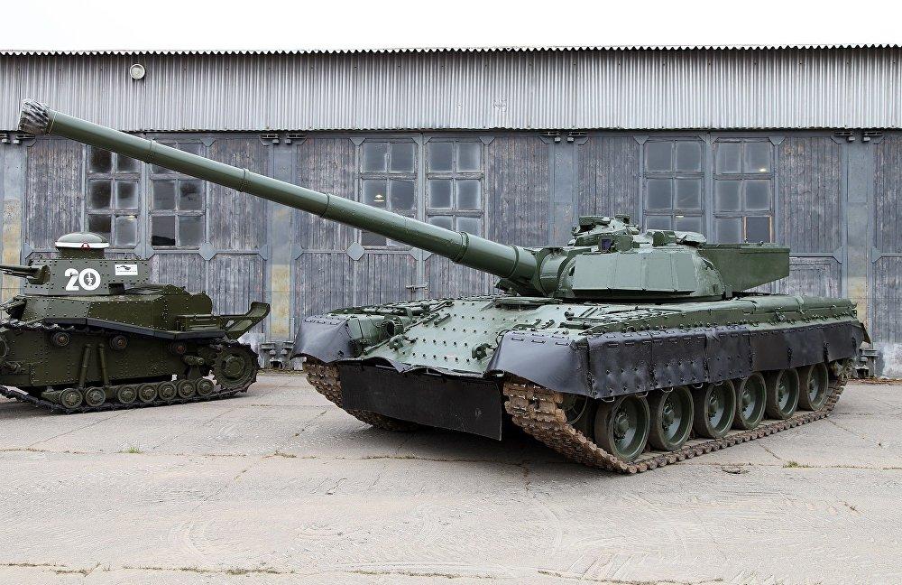 Zkušební hlavní bitevní tank Object 292