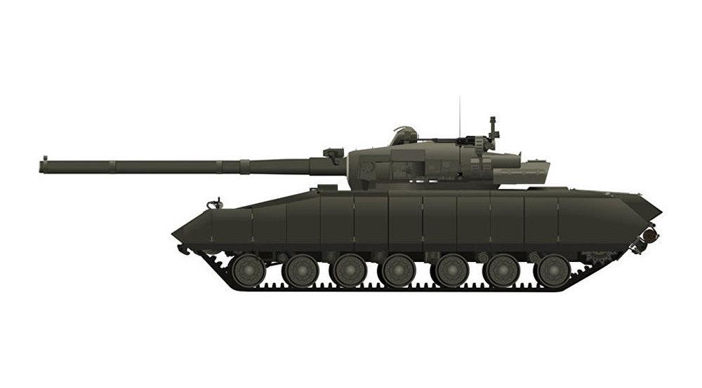 Experimentální tank Object 477 nebo Boxer