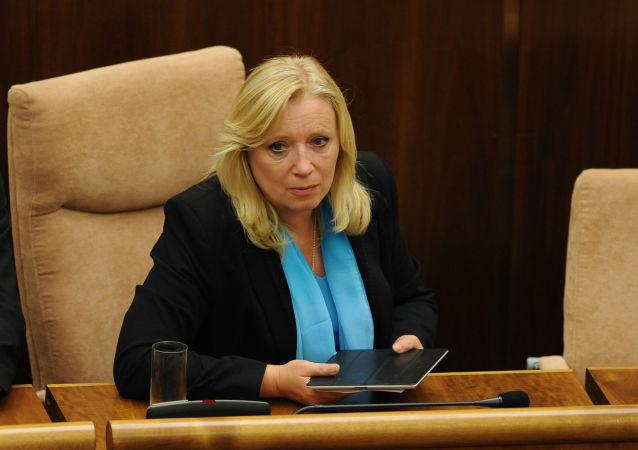 Bývalá premiérka Slovenska Iveta Radičová