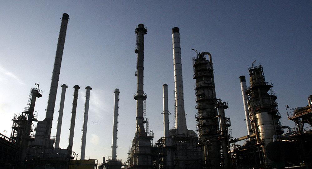 Rafinerie ropy v Teheránu