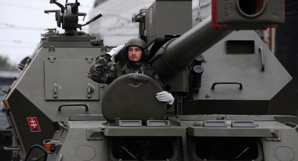 Vojenská přehlídka, Slovensko