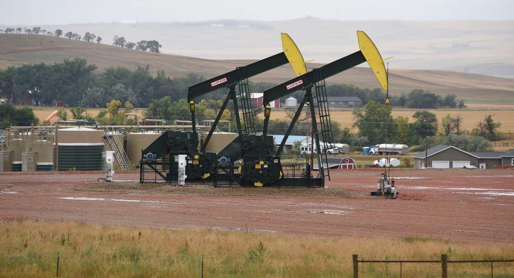 Těžba břidlicové ropy v USA