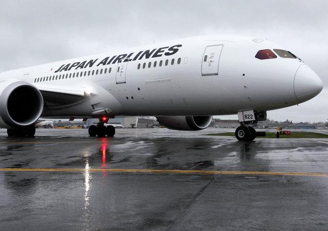 Letoun společnosti Japan Airlines. Ilustrační foto