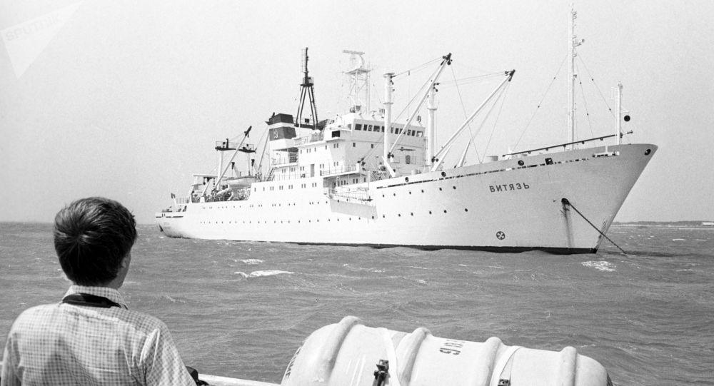 Vědecká expedice na lodi Viťaz