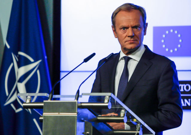 Donald Tusk v Bruselu