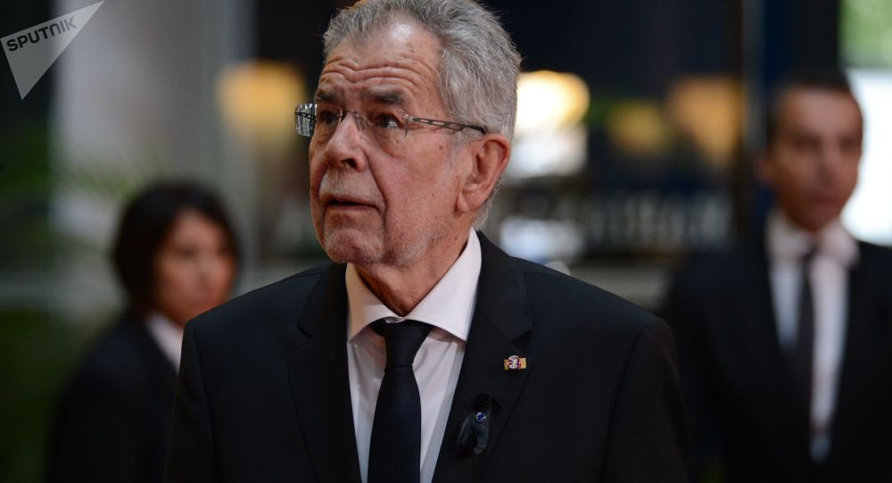 Prezydent Austrii Alexander Van der Bellen