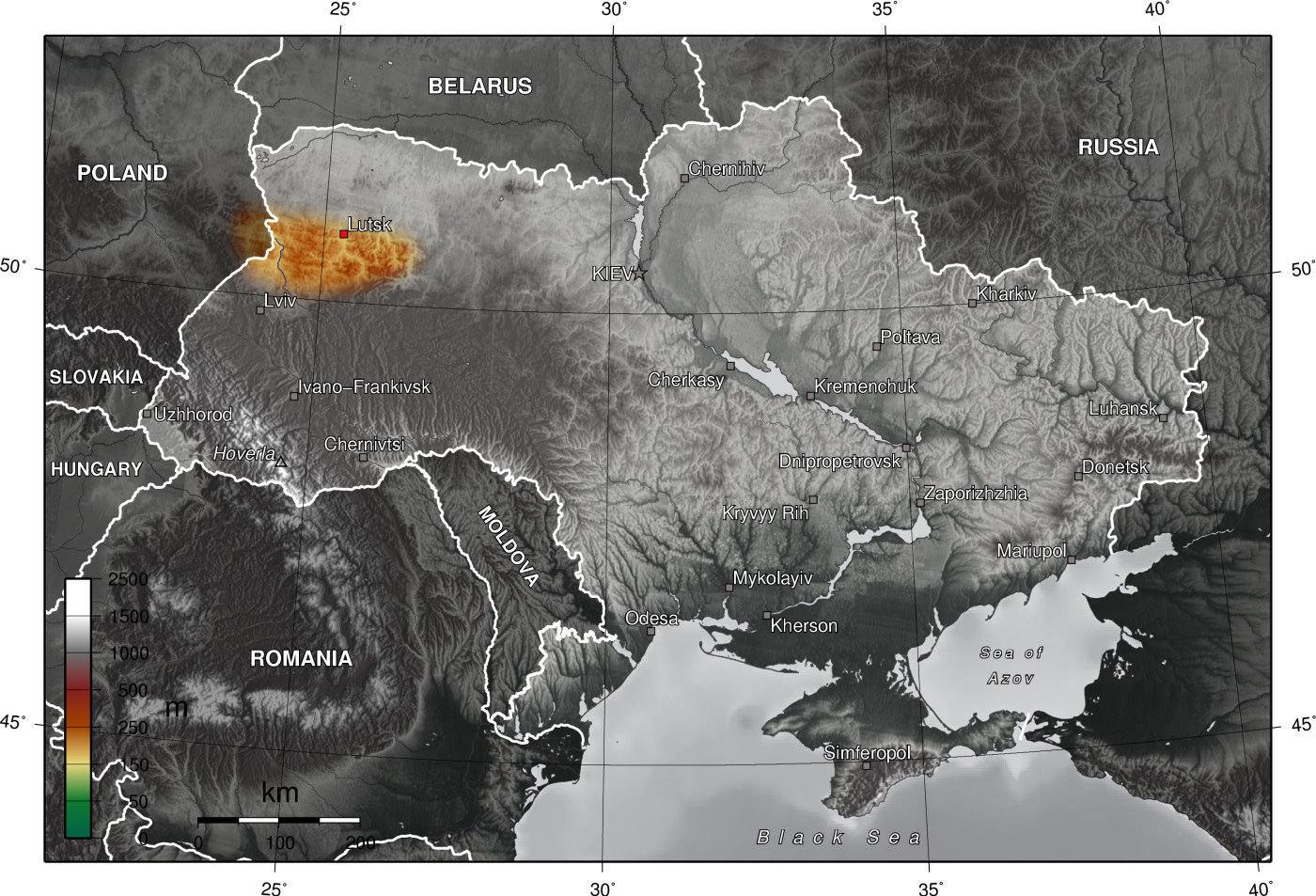 Volyňská oblast na Ukrajině