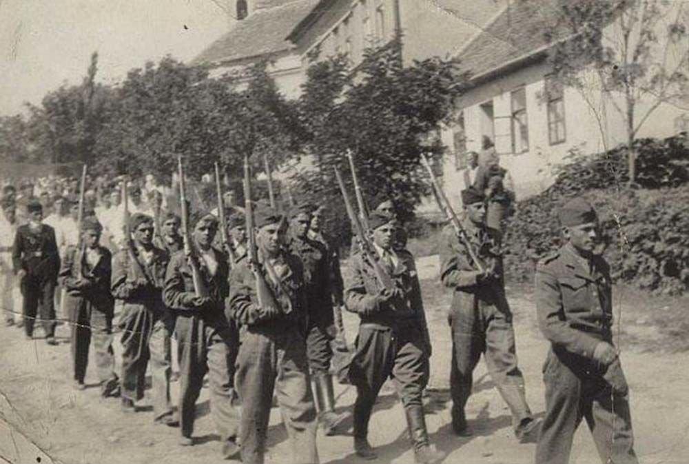 Příchod volyvských vojáků do České republiky