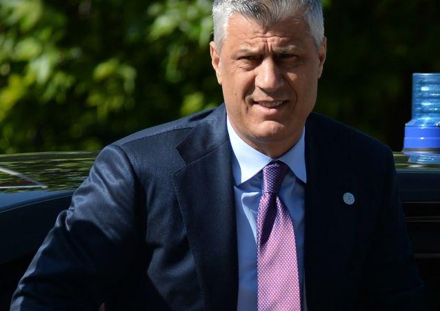 kosovský prezident Hashim Thaçi