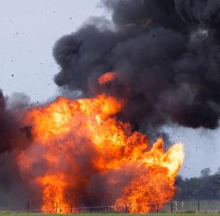 Ilustrační foto, výbuch