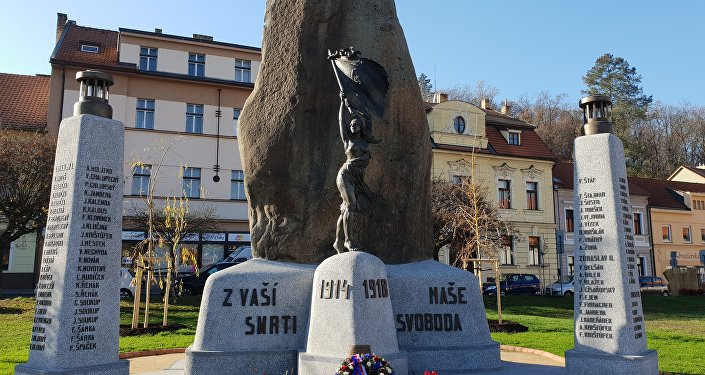 Pomník padlým v I. světové na Zbraslavi