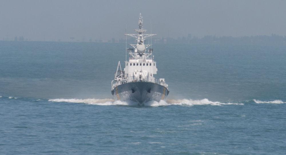 Ukrajinská loď Grigorij Kuropjatnikov
