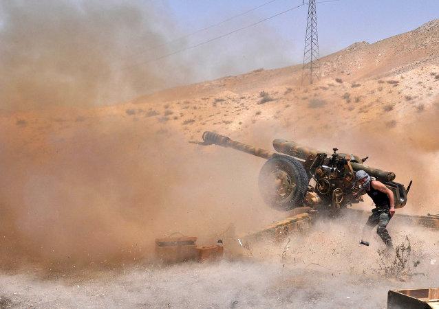 Boj proti IS v Sýrii