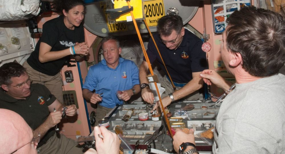 Na palubě ISS