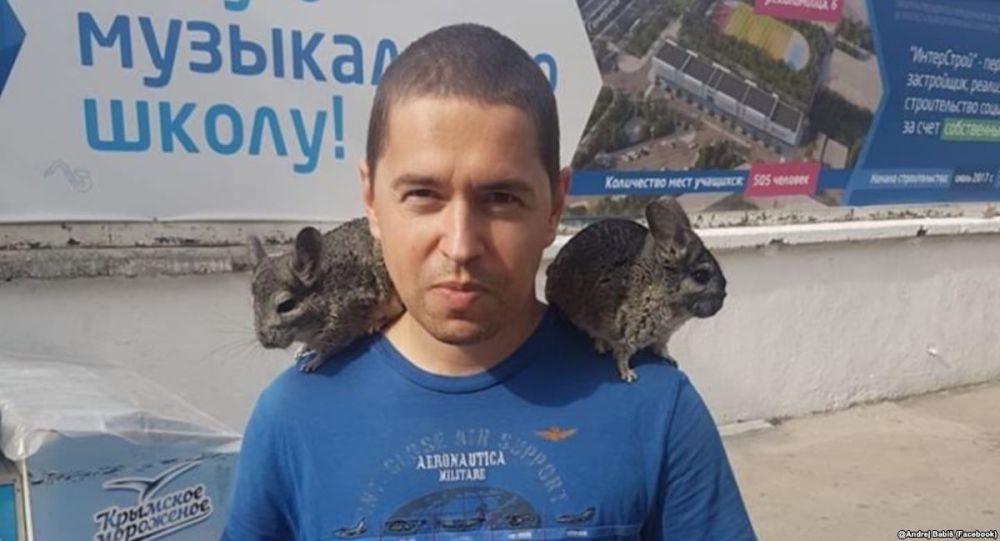 Andrej Babiš mladší na Krymu