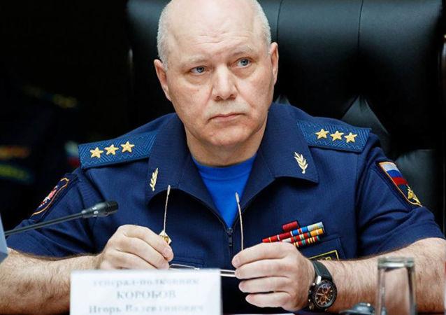 Náčelník Hlavní správy rozvědky Generálního štábu Ozbrojených sil Ruské federace (GRU) Igor Korobov