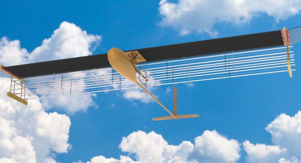 Letadlo poháněné iontovým motorem od týmu Massachusetts Institute of Technology (MIT) v USA