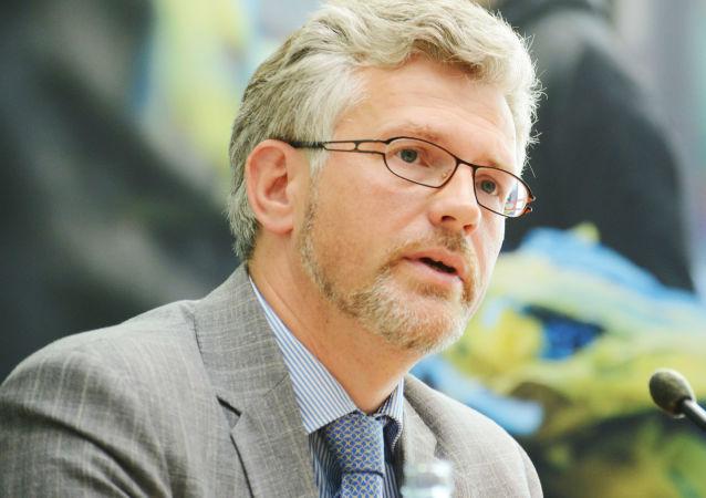 Velvyslanec Ukrajiny v Německu Andrij Melnik