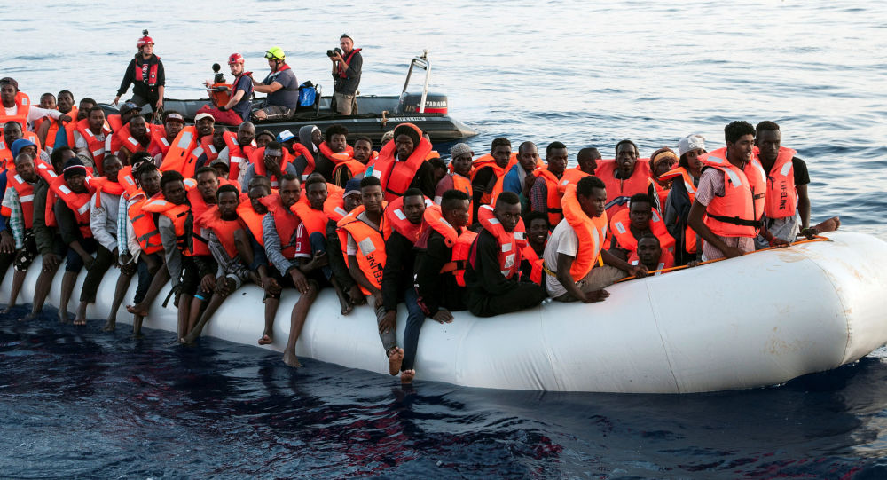 Středomoří. Migranti