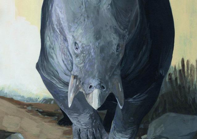 starodávného zvířete, které je příbuzné savcům Lisowicia bojani
