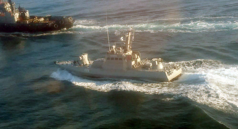 Ukrajinské lodě Berdjansk, Nikopol a Jany Kapu narušily státní hranici Ruska