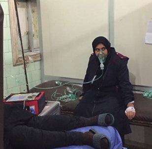 Strašlivé následky chemického útoku v Sýrii
