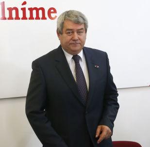 Předseda Komunistické strany Čech a Moravy Vojtěch Filip