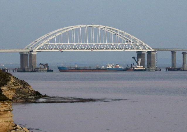 Kerčský průliv, spojnice Černého a Azovského moře