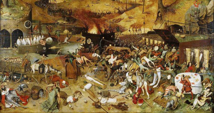 Obraz Triumf smrti od Pietera Brueghela