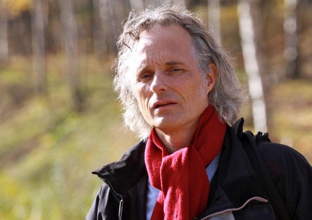 Německý novinář a spisovatel Ulrich Heyden