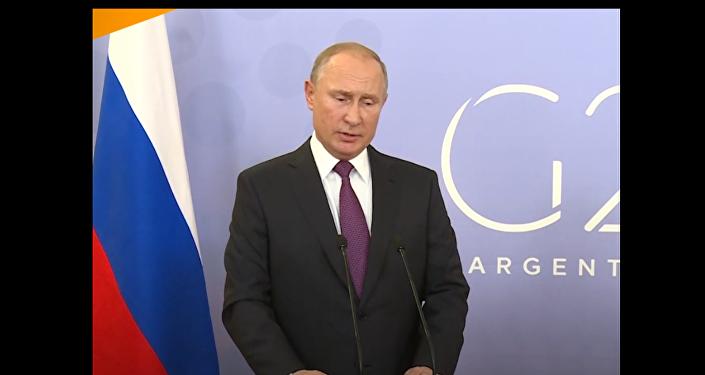 Putin prozradil obsah jednání s Trumpem na G20