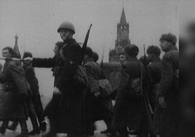 77. výročí útoku sovětské armády u Moskvy