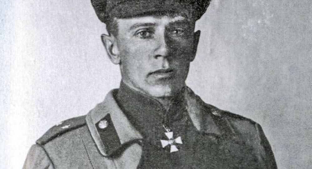 Ruský a československý generál Sergej Vojcechovský