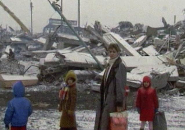 30. výročí zemětřesení ve Spitaku