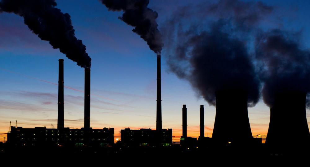 Uhelná elektrárna. Ilustrační foto