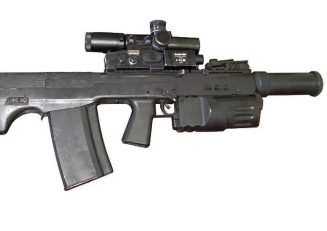 Těžký samopal ŠAK-12
