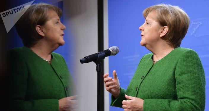 Kancléřka Angela Merkelová