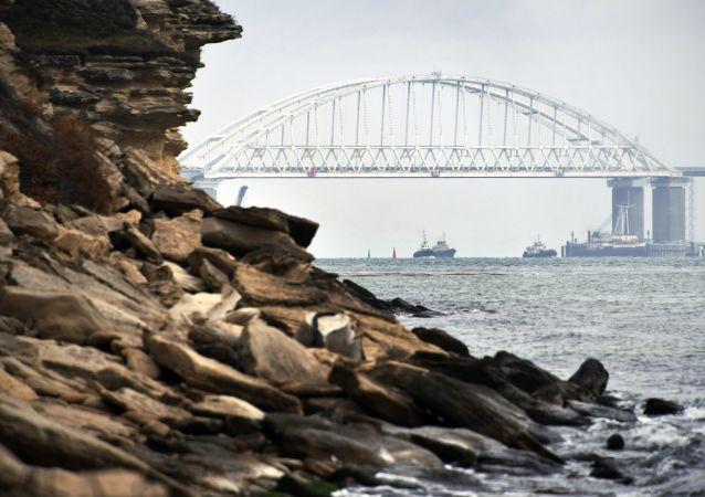 Krymský most v Kerčském průlivu