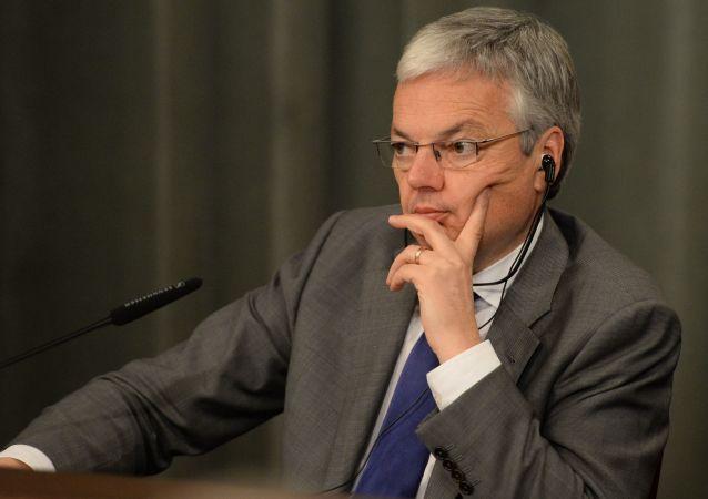 belgický vicepremiér a ministr zahraničí Didier Reynders.